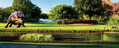 Overview of golf course named Isleworth Country Club