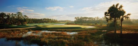 Overview of golf course named Old Marsh Golf Club