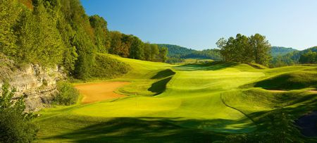 Pete dye golf club cover picture