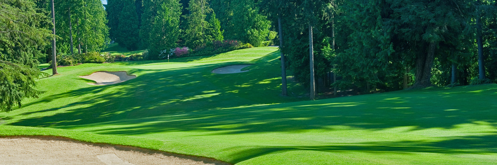Overview of golf course named Sahalee Country Club