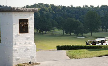 Overview of golf course named Holston Hills Country Club