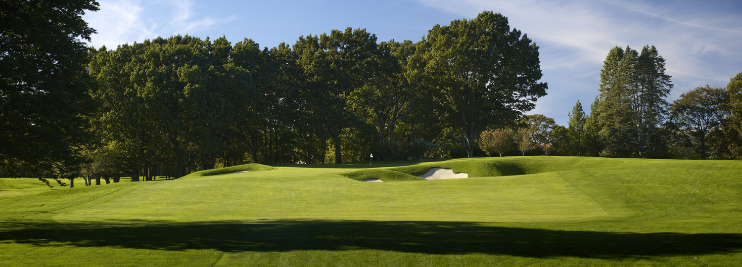 Overview of golf course named Wannamoisett Country Club