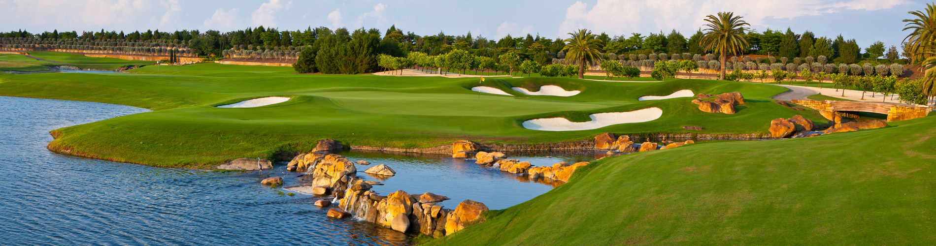 Overview of golf course named Talis Park Golf Club