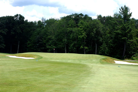 Overview of golf course named Oak Hill Country Club