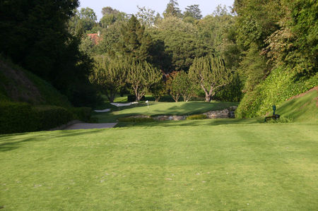 Overview of golf course named Bel-Air Country Club