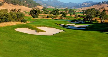 Overview of golf course named Cordevalle Golf Club