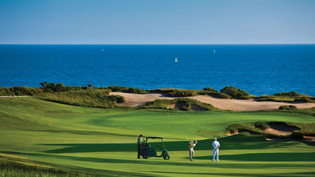 Overview of golf course named Pelican Hill Golf Club - Ocean South