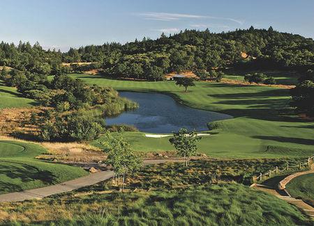 Overview of golf course named Mayacama Golf Club