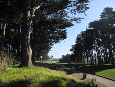 Overview of golf course named Presidio Golf Course