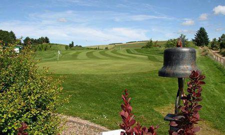 Auchenblae golf club cover picture