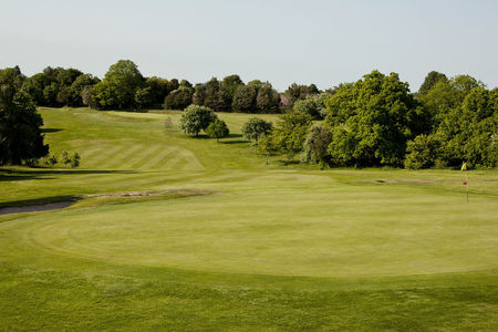 Overview of golf course named Purley Downs Golf Club