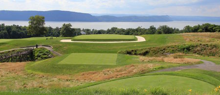 Overview of golf course named Sleepy Hollow Country Club