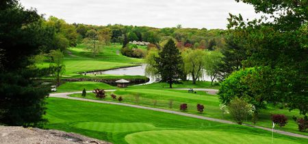 Overview of golf course named Westchester Country Club