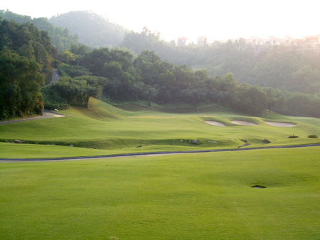 Overview of golf course named Agile Golf and Country Club