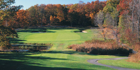 Overview of golf course named Charles River Country Club