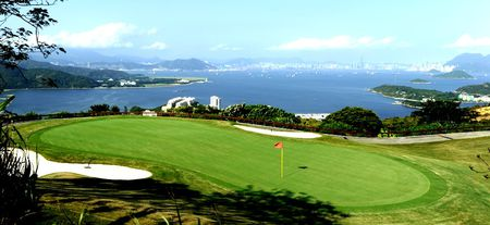Overview of golf course named Discovery Bay Golf Club