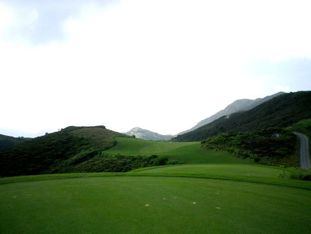 Overview of golf course named East Course at The Jockey Club's Kau Sai Chau