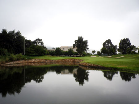 Overview of golf course named Lakeview Golf Club Kunming