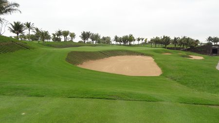 Overview of golf course named Stone Quarry at Mission Hills Haikou