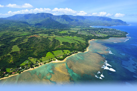 Overview of golf course named Princeville at Hanalei - Prince Golf Course