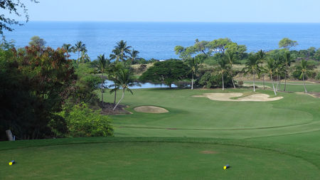 Overview of golf course named The Club at Hokuli'A