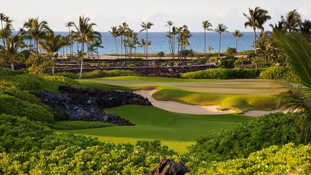 Overview of golf course named Kuki'O Golf Club