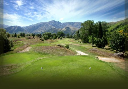 Overview of golf course named Arrowtown Golf Club