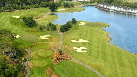 Overview of golf course named Clearwater Golf Club