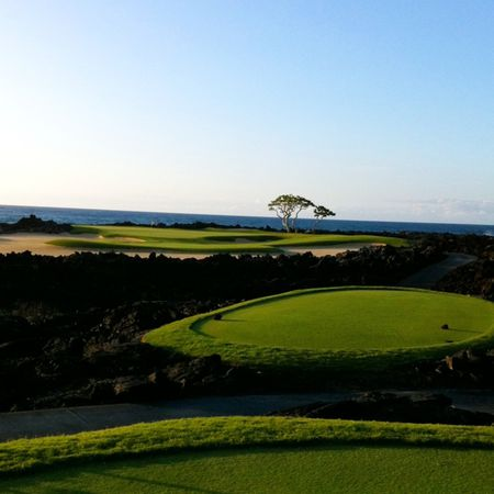 Overview of golf course named Hualalai Golf Club