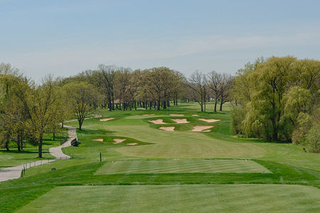 Overview of golf course named Cog Hill Golf and Country Club