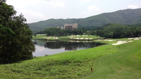 Overview of golf course named Olazabal Course at Mission Hills Dongguan