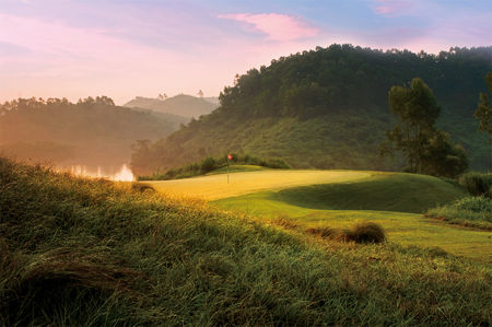 Overview of golf course named Norman Course at Mission Hills Dongguan