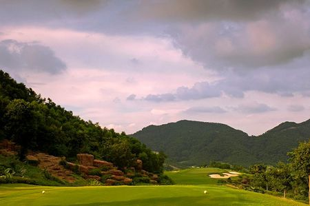 Overview of golf course named Annika Course at Mission Hills Dongguan