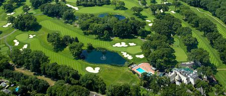 Overview of golf course named The Ridgewood Country Club