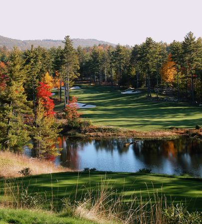 Overview of golf course named Lake Winnipesaukee Golf Club