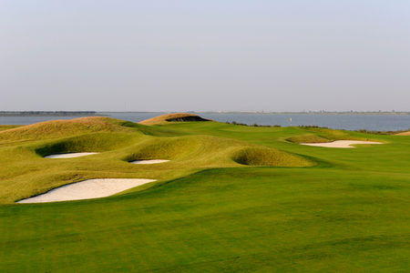 Overview of golf course named Shanghai Agile Binhai Golf Club