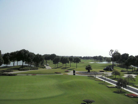 Overview of golf course named Shanghai Silport Golf Club