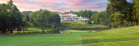 Overview of golf course named Congressional Country Club