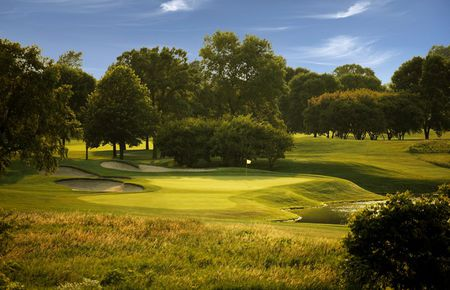 Overview of golf course named Hazeltine National Golf Club