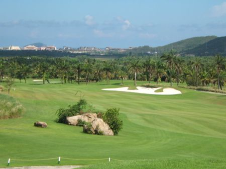 Overview of golf course named Sun Valley Sanya Golf Resort