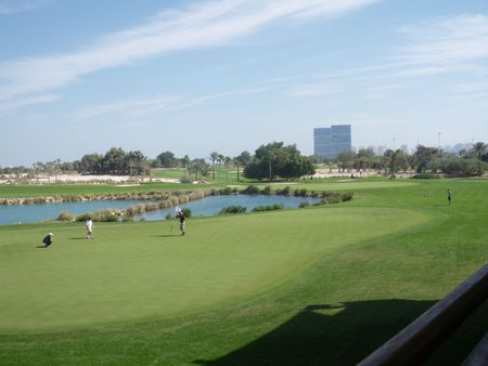 Overview of golf course named Doha Golf Club