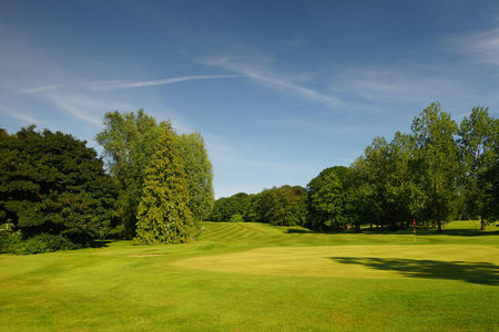 Overview of golf course named Belvoir Park Golf Club