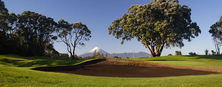 Overview of golf course named New Plymouth Golf Club