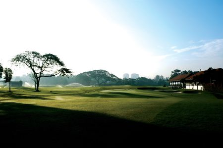 Overview of golf course named Royal Selangor Golf Club