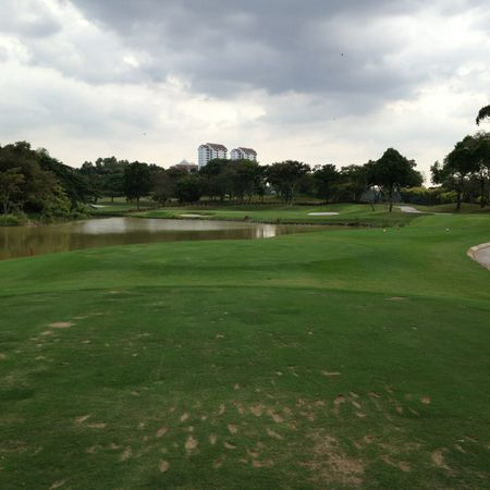 Overview of golf course named Sungai Long Golf and Country Club