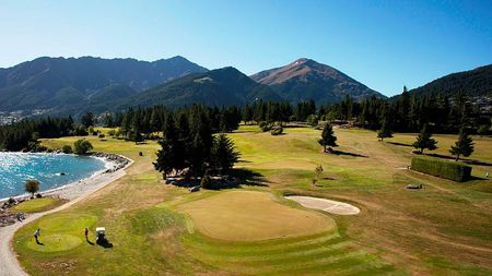 Overview of golf course named Queenstown Golf Club