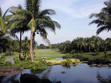 Overview of golf course named Manila Southwoods Golf and Country Club