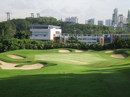 Overview of golf course named Sentosa Golf Club