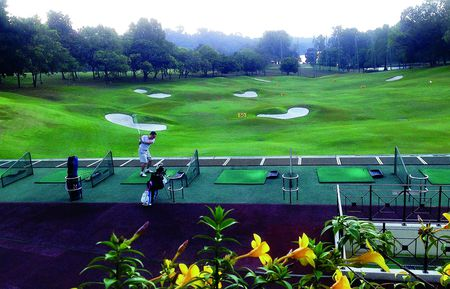 Overview of golf course named Singapore Island Country Club