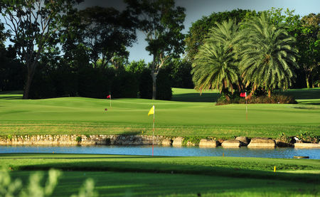 Overview of golf course named Tanah Merah Country Club